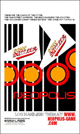 Neopolis Poster: The Disco Dazzlers